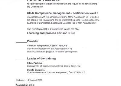 Certifikát-CH-Q